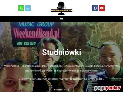 Zespoły weselne Warszawa - WeekendBand zespół weselny