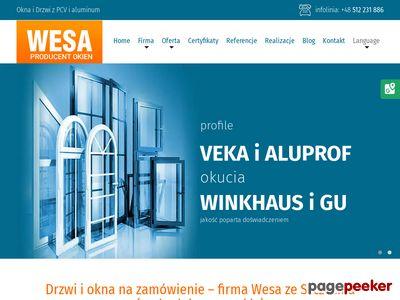 WESA producent okien szczecin