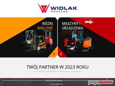 Widlak-Serwis - wózki widłowe, sprzedaż, serwis i wynajem