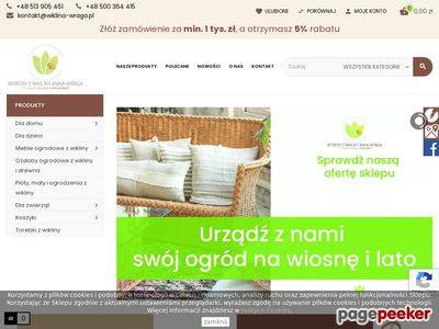 Wiklina-wraga.pl - wyroby z wikliny producent