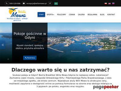 Nocleg Gdynia Willa Mewa