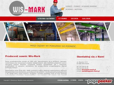 Www.wis-mark.pl - produkcja