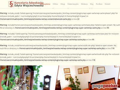 Adwokat Edyta Wojciechowska - sprawy rodzinne, cywilne, rozwodowe - Poznań