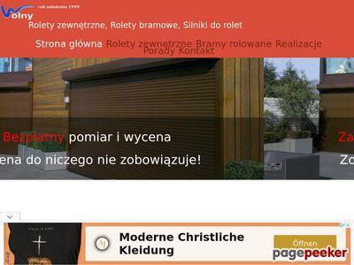 Rolety zewnętrzne Łódź