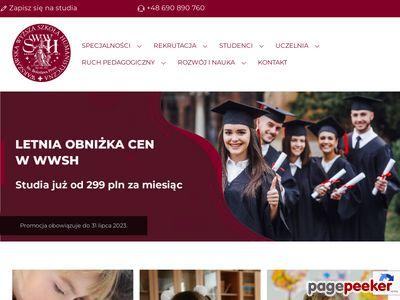Wyższa Szkoła Pedagogiczna Warszawa pedagogika przedszkolna