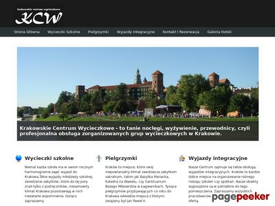 Kraków tanie noclegi dla pielgrzymów, szkół