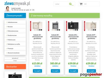 www.zlewozmywak.pl - Zlewozmywaki