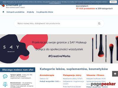ZnamLek.pl - baza rzetelnych opinii o lekach