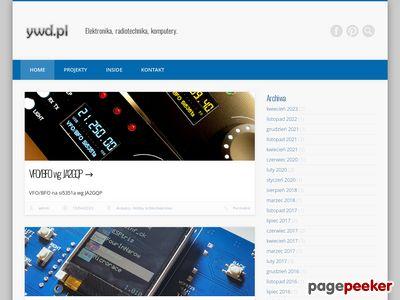 YWD - elektronika - projekty. konstrukcje, rozwiązania
