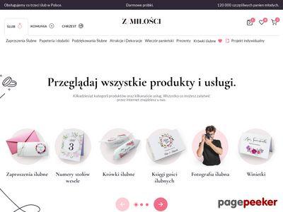 z-Milosci.pl zaproszenia na ślub