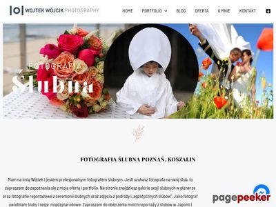 Fotografia ślubna Słupsk, Koszalin