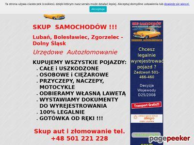 Skup aut Lubań, auto szrot i autozłomowanie - VERNAL