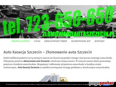 Auto złomowanie Szczecin