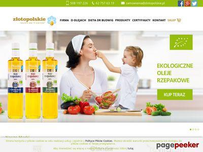 Zlotopolskie.pl - naturalne oleje roślinne