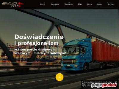 Firmy spedycyjne - zmudatrans.com.pl