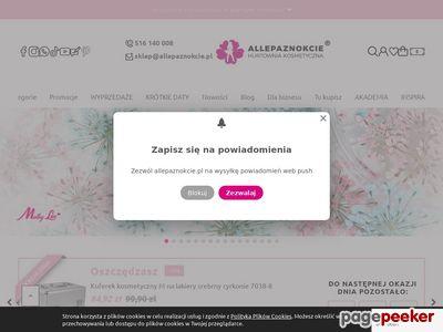 AllePaznokcie - sklep z produktami do stylizacji paznokci