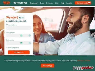 Wypożyczalnia samochodów BEEP.rent