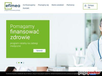 Efimea - finansowanie usług medycznych