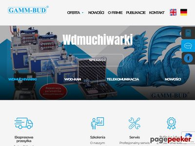 Wdmuchiwanie światłowodu - gamm-bud.pl