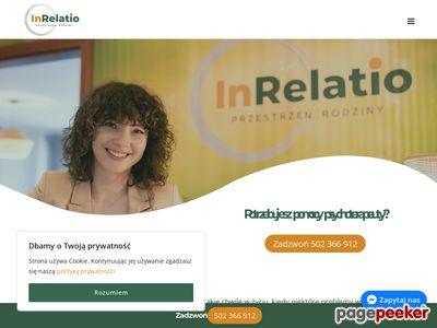Psychoterapia rodzinna Warszawa - inrelatiorodzina.pl