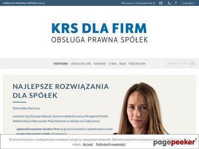 KRS dla Firm