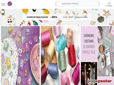 Półprodukty do wyrobu biżuterii - Manzuko