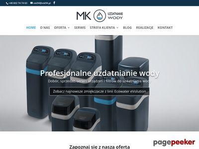 Zmiekczacze ECOWater warmińsko-mazurskie - mk94.pl