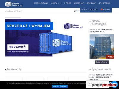MobilneKontenery.pl - produkcja, sprzedaż, wynajem