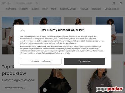 Sukienki na imprezę - mosquito-sklep.pl