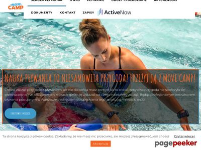 Nauka pływania - MOVE CAMP
