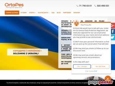 Pracownia protetyczno-ortopedyczna Orto-Pes