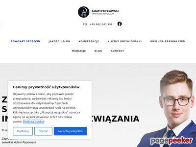 Adwokat Szczecin na poplawski.legal