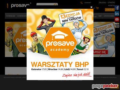 Prosave.pl - odzież robocza i wiele więcej