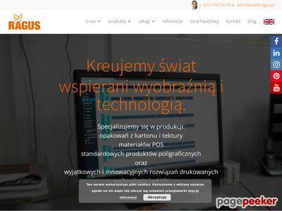 Ragus.pl - drukarnia offsetowa