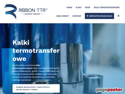 Taśmy termotransferowe - ribbonttr.com