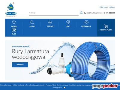 Rury kanalizacyjne na sklep.wodbud.com.pl
