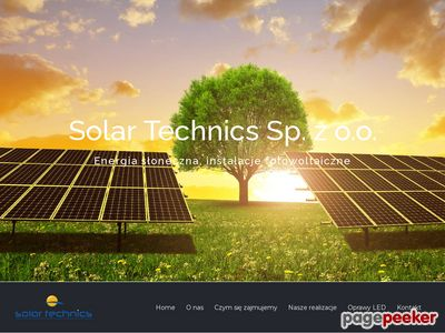 Solar Technics producent opraw LED