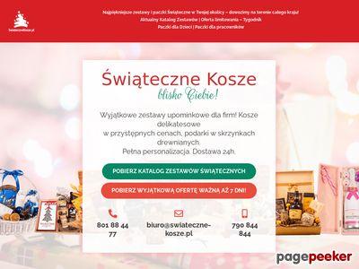 Kosze dla firm - swiateczne-kosze.pl