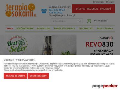 Terapiasokami.pl - wyciskarki, kiełkownice, blendery