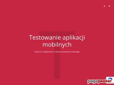 Testy aplikacji mobilnych Piotr Wicherski
