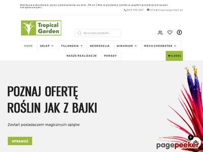 Rośliny egzotyczne sklep - tropicalgarden.pl