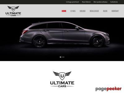 Ultimatecars.pl - stylizacja samochodu Wrocław.