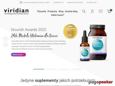 Viridian Nutrition Polska