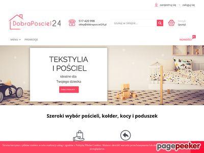 Pościele, Koce, Kołdry i Poduszki - Tekstylia on-line