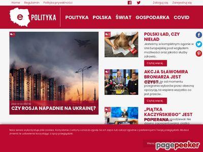 e-Polityka - wiadomości z Polski i ze świata