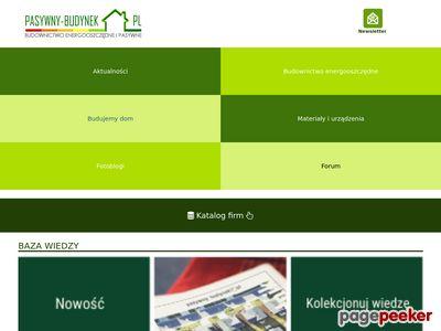 Domy pasywne - portal informacyjny