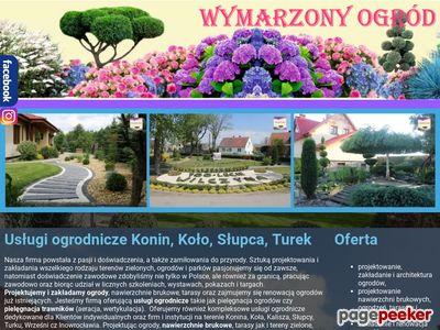Pielęgnacja ogrodów Turek