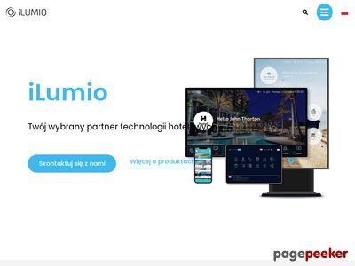 Interaktywny system obsługi gościa - Ilumio