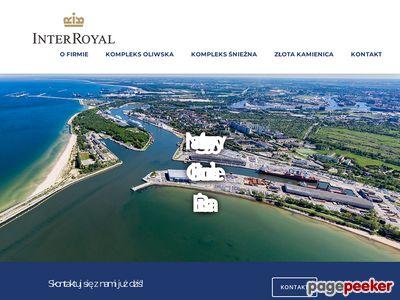 Inter Royal - hale magazynowe wynajem Gdańsk