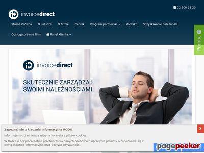 Invoicedirect.pl Odzyskiwanie długów